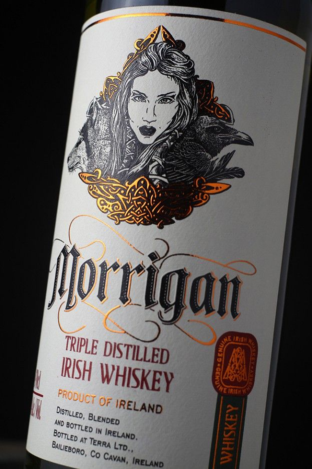 Pragmatique - Blended Irish Whiskey Morrigan I need this for me!