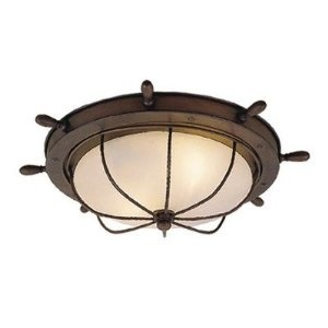 Vaxcel Orleans Nautical Outdoor Ceiling Light   in  Antique Red Copper   It  just makes sense that the Vaxcel Orleans Nautical Outdoor Ceiling Light    in 34 best Nautical Theme Home images on Pinterest   Nautical theme  . Nautical Indoor Ceiling Lighting. Home Design Ideas