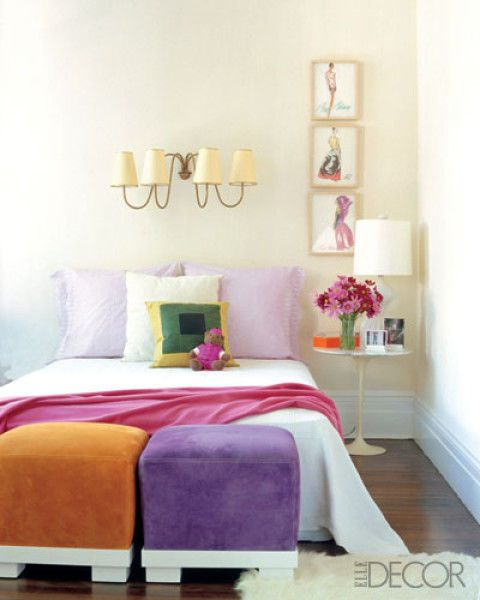 20 ways to make a big statement in a small bedroom - Decorate Kids Bedroom