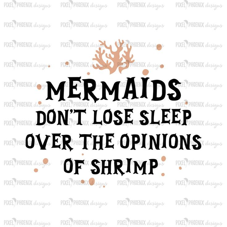 Mermaid clipart, mermaid SVG file, don't lose sleep, mermaid cut file, svg for Cricut, vinyl template, instant download, svg cuttable by pixelphoenixdesigns on Etsy