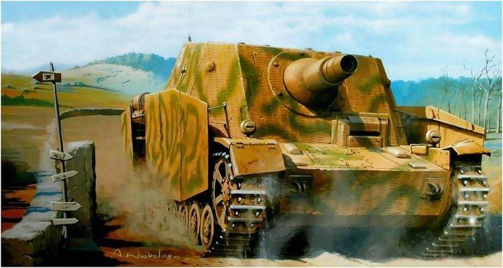 Sturmpanzer IV Brummbär (early version). Arkadiusz Wrobel - BFD