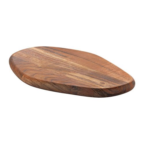 IKEA - FASCINERA, Chopping board, Made of solid wood, which is a durable natural material and gentle on your knives.You can also use the chopping board as a serving tray for food such as cheese or charcuterie.
