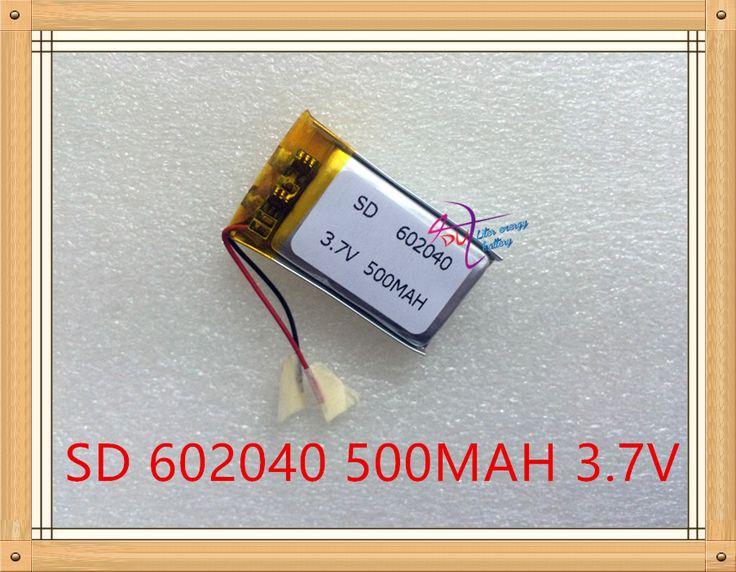 Liter energy battery 3.7V polymer lithium battery 062040 602040 500MAH MP4 MP5 GPS MP3 Bluetooth small speaker #Affiliate
