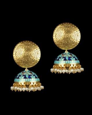 Minakam earrings/jhumkas