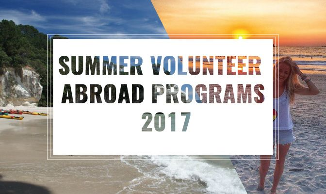 Check out these recommended summer volunteer programs abroad and how to travel with meaning this summer break...