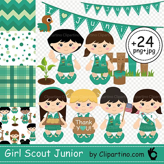 girl scout juniors clip art   imgkid     the image