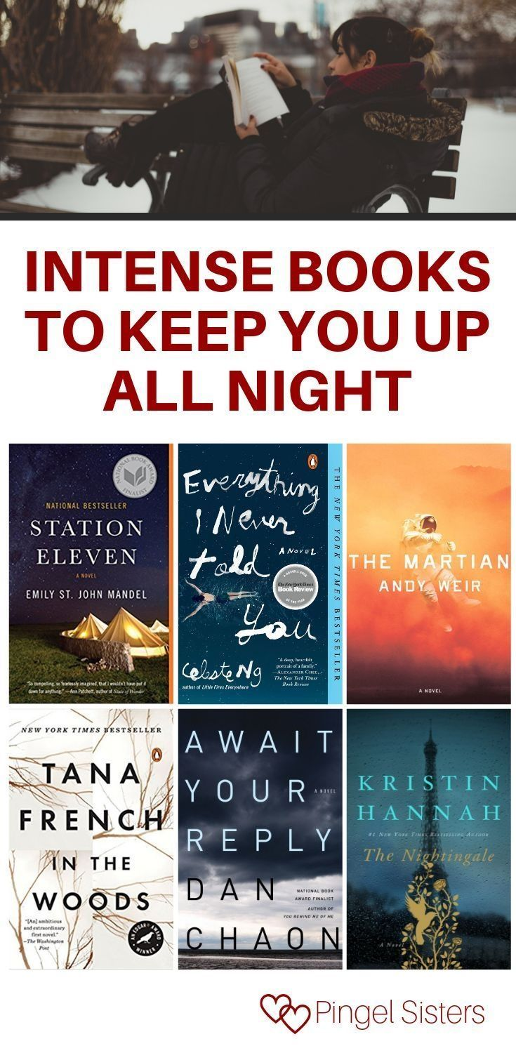 Intense Books To Keep You Up All Night In 2020 Book Club Books