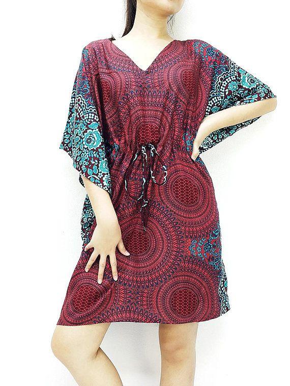 Plus Size, V neck, Rayon Kaftan, Beach Kaftan, #clothing #women #shirt @EtsyMktgTool http://etsy.me/2yiVgiK