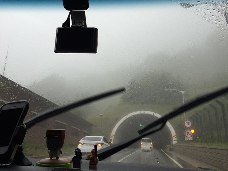 Safe Driving in the Fog and Mist!! #Misiryeong Tunnel, #Gangwon Province, Korea | 미시령터널