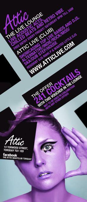 nightclub flyers