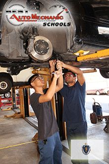 Check out the Top Auto Mechanic Schools in Massachusetts (MA) - http://best-automechanicschools.com/massachusetts/