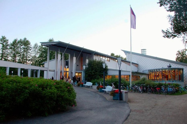 Kuhmo library, Finland