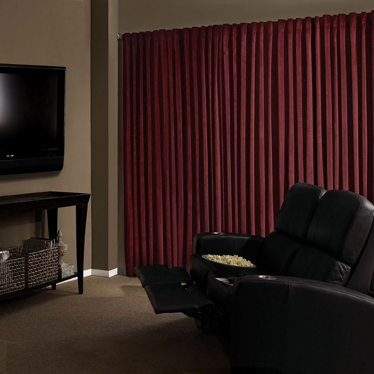 Best 25+ Home Theater Curtains Ideas On Pinterest