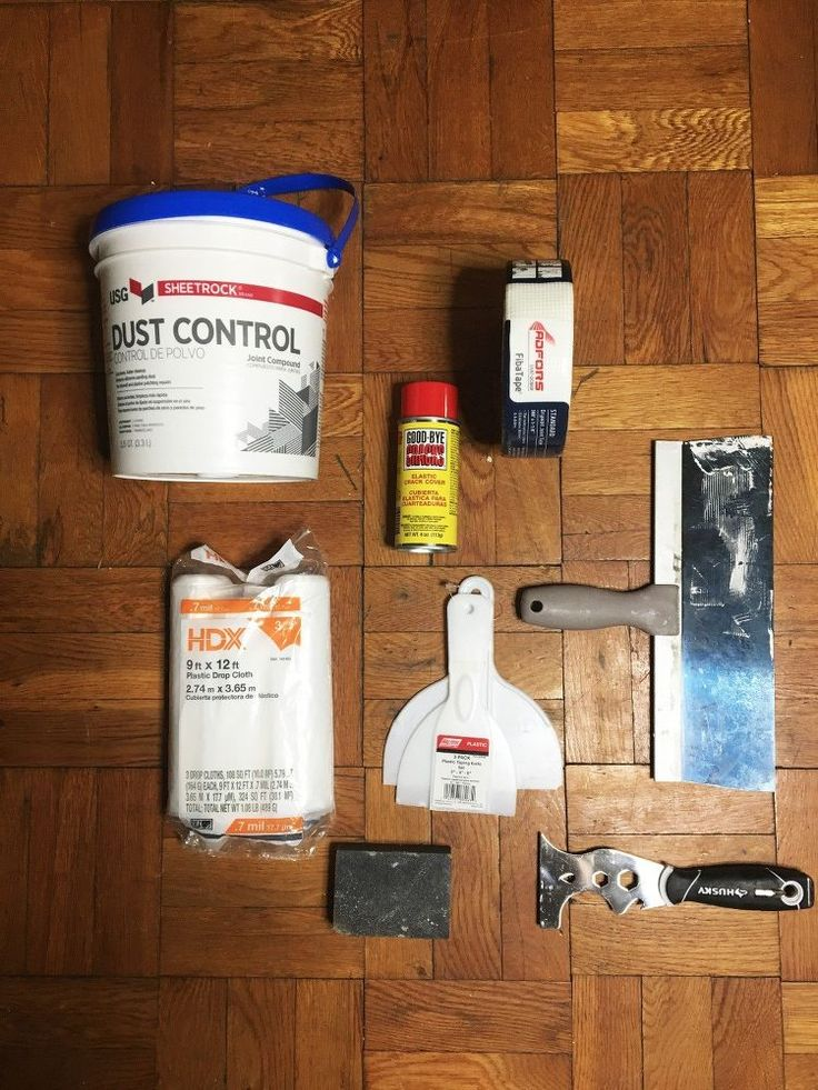 Did you know that fixing a crack in some drywall on a wall or ceiling can be quick and easy? We have had a long crack in the ceiling of our living room for quit…