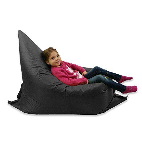 MaxiBean Kids BeanBag Large 6-Way Garden Lounger - GIANT Childrens Bean Bags Outdoor Floor Cushion BLACK - 10 No description (Barcode EAN = 5018036951079). http://www.comparestoreprices.co.uk/december-2016-6/maxibean-kids-beanbag-large-6-way-garden-lounger--giant-childrens-bean-bags-outdoor-floor-cushion-black--10.asp