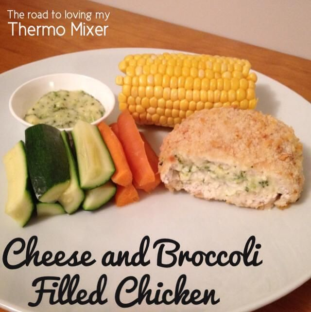 Cheese and Broccoli Filled Duets