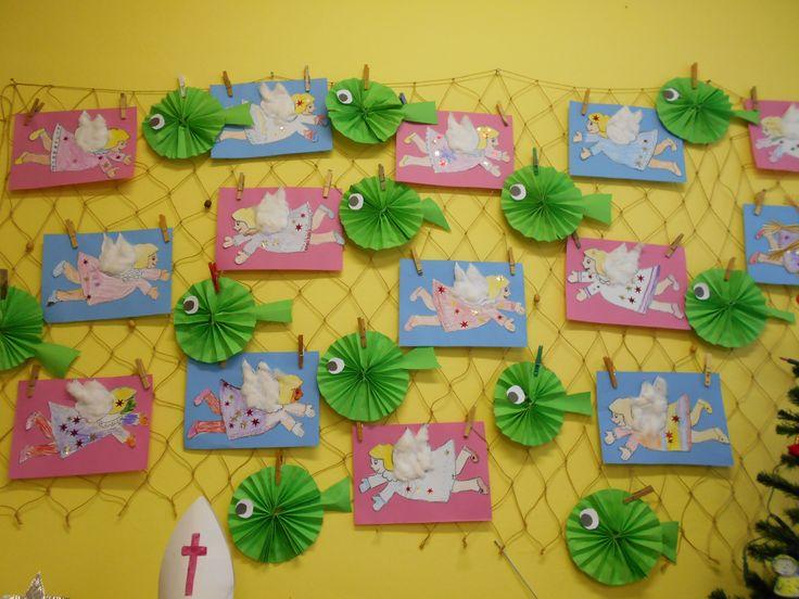 Naše třídní vánoční nástěnka.