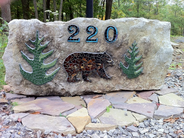 38 Best Images About Address Signs On Pinterest Mosaic