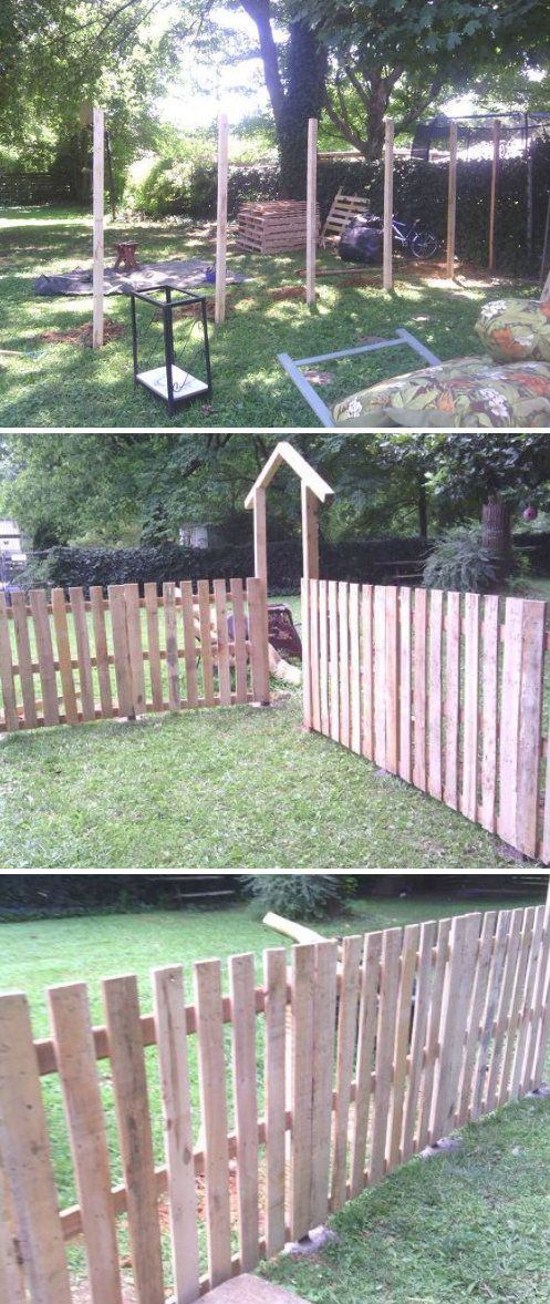 pallet fence pin