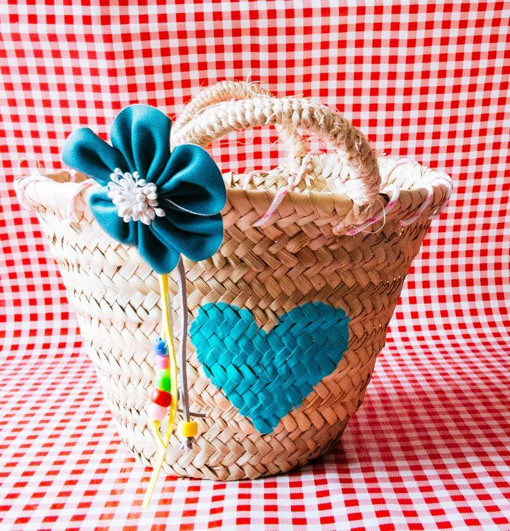 Doe het zelf pakket Ibiza tas pimpen- kinderfeestje- mini Ibiza tas- http://www.galerie-lucie.nl/