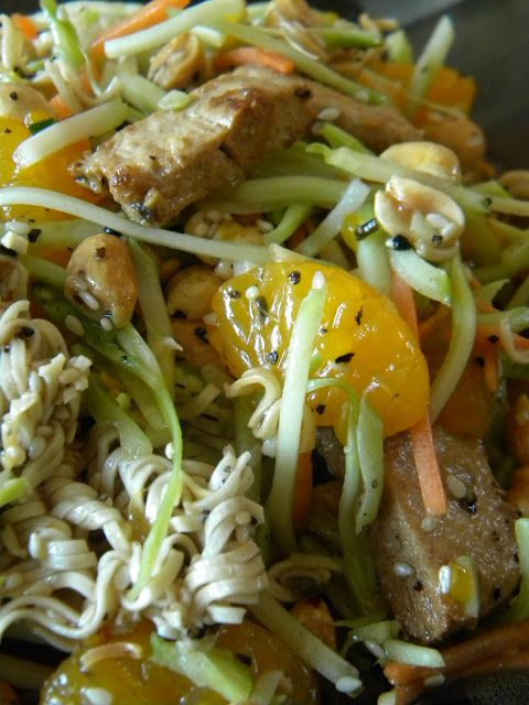 Meet The Shannons: The Betty Crocker Project : Crunchy Vegan Asian Ch...