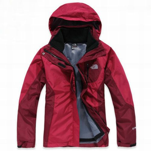 North Face Womens Berkeley Hyvent Jacket Wine Red