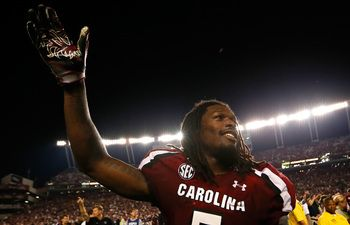 """Predicting the 2013 Associated Press Preseason Top 25 College Football Poll -- #7 South Carolina Gamecocks, 5 of 10 SEC teams and 2 of 10 SC teams!""  Dave Cochran, Seattle"