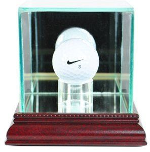 PGA Golf Ball Glass Display Case, Cherry *** Check this awesome product by going to the link at the image.