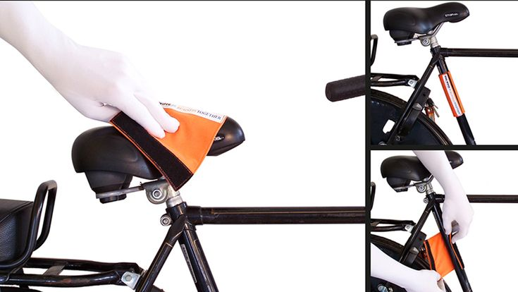 The Bikewiper is a water-absorbing cloth that Velcro's to your bike, so that you've always got a cloth handy to wipe a wet or dirty saddle. It's also good for wiping off handlebars or a baby's bike seat. The Bikewiper comes with a sewn on ribbon, which can be printed with your logo in 1-4 colors. Minimum order quantity starts from just 250 pieces. - See more at: www.imsbrandedsolutions.com