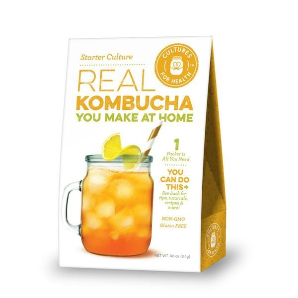 Cultures For Health Real Kombucha Starter - 2 Packets