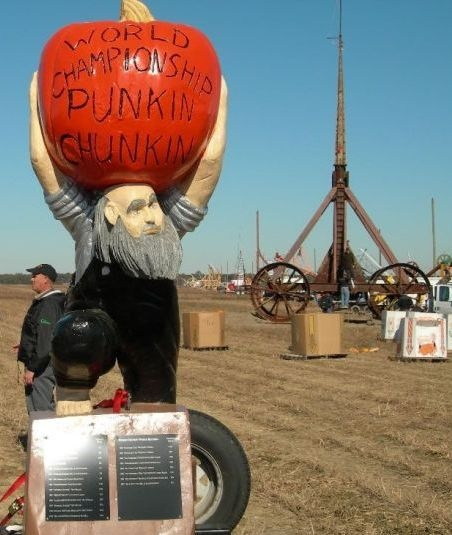 World Championship Punkin Chuckin' | Nov. 1-3 2013, in Nassua, Delaware.  I want to witness this one year