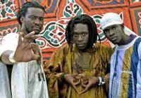 DAARA J: a Senegalese rap duo that consists of N'Dongo D and Faada Freddy.