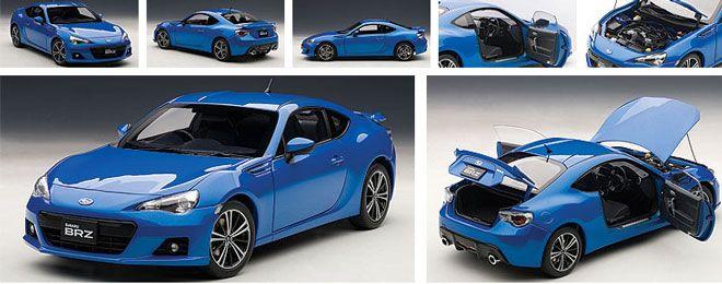 Subaru Brz Wr Blue Mica Autoart 1 18 Performance Cast Model No 78691 Cars Pinterest Models