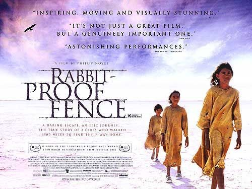 best rabbit proof fence images bunnies fences  rabbit proof fence movie poster