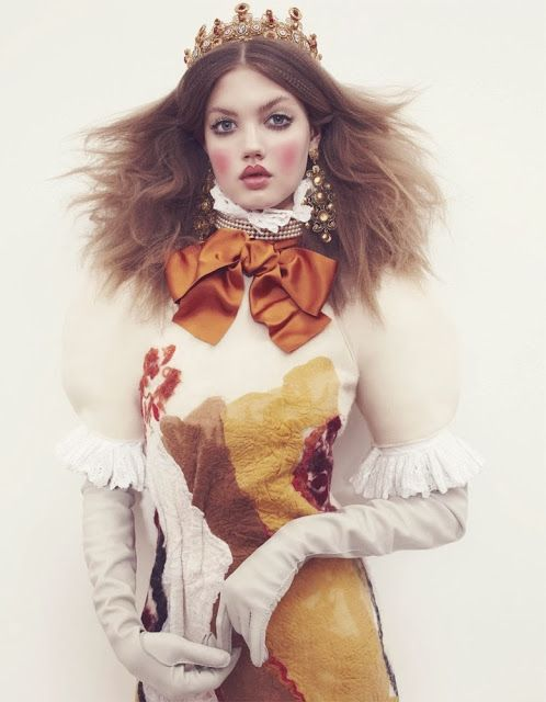 Vogue Japan - December 2013 (Winter Princess) Fashion editorial