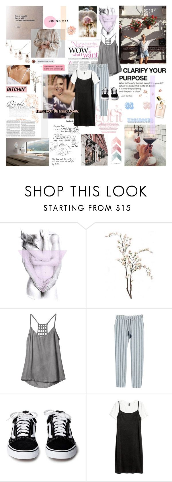 """""""[ LAU ] AND THE PLAN IS TO PUT THE RAP GAME IN A CHOKE HOLD"""" by bloodystilinski ❤ liked on Polyvore featuring Enigma, RVCA, MANGO and H&M"""
