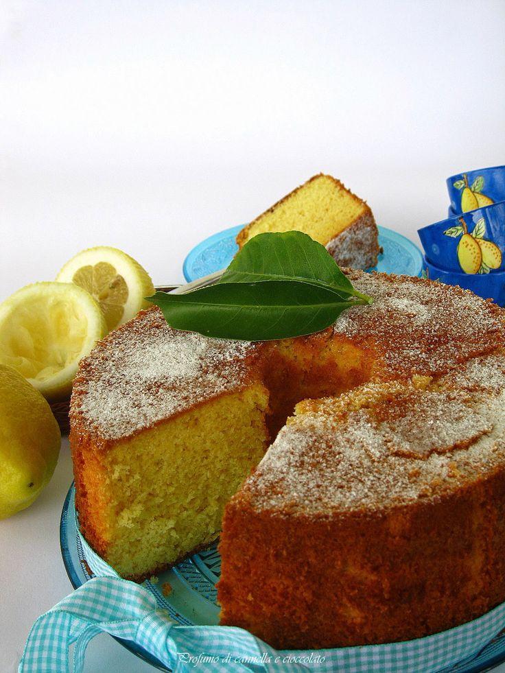 Profumo di cannella e cioccolato: Fluffosissima al limone miele e idromiele