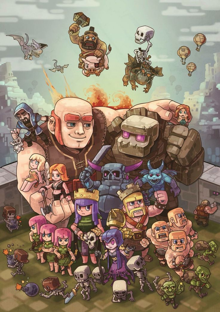 Clash of Clans fan art