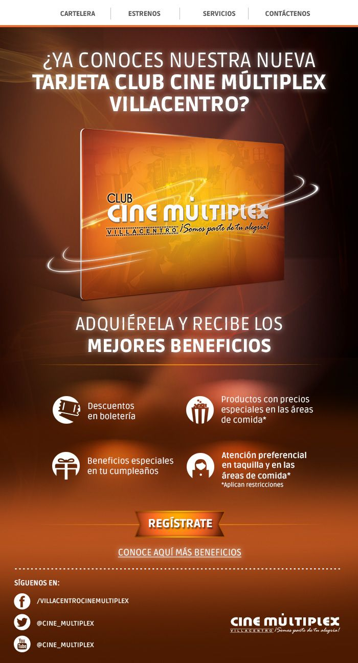 E-Mail Marketing CIne Múltiplex