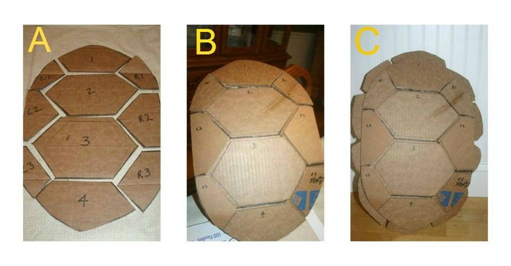 How To Make A Teenage Mutant Ninja Turtle Shell