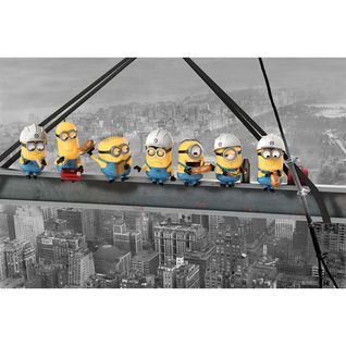 Plakat Maxi DESPICABLE ME - MINIONS LUNCH ON A SKYSCARPER