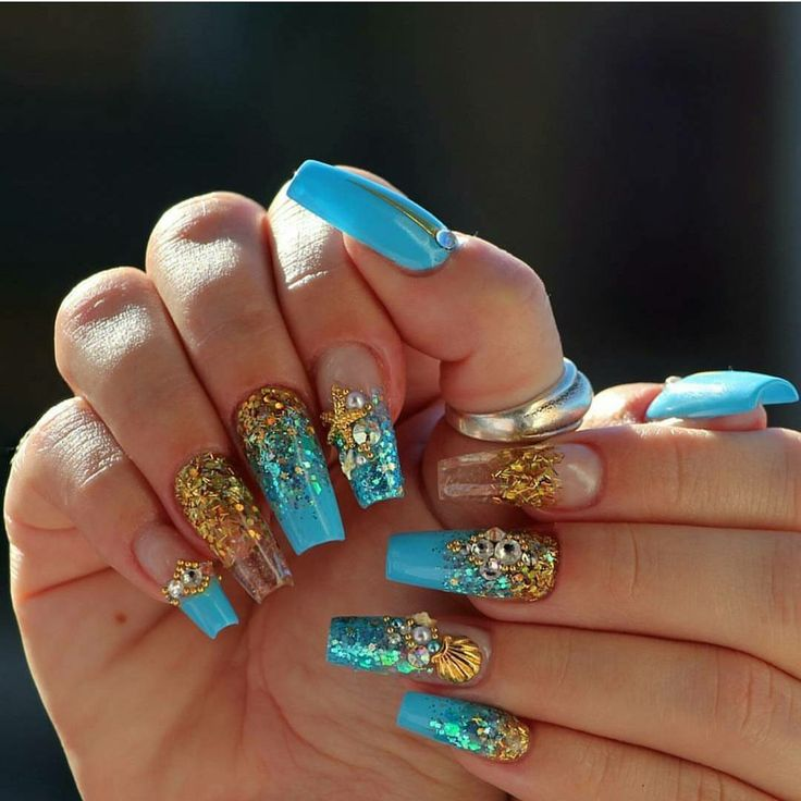 15 best Beach Nails images on Pinterest | Nail scissors ...