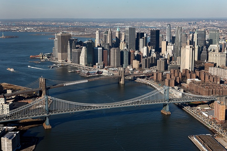East River from #helicopter #NYC