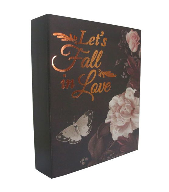 """Fall Into Color """"Fall In Love"""" Word Block"""