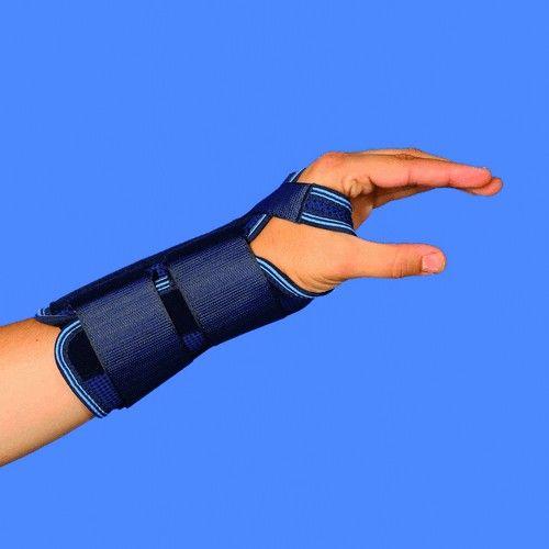 MQ501 Ottec Muñequera inmovilizadora estándar indicada para traumatismos para articulares de muñeca sin fractura, inmovilización controlada de la articulación, post-operatorio de sinovitis, osteoartritis degenerativas, esguinces recidivantes de muñeca. #salud #ortopedia #muñequeras
