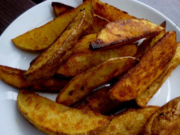 Spicy Potato Wedges recipe