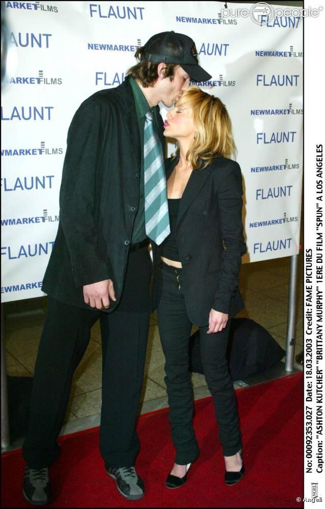 Ashton Kutcher and RIP Brittany Murphy