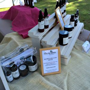 Southern Highlands NSW Mittagong Markets Cloudy Tree organics stall