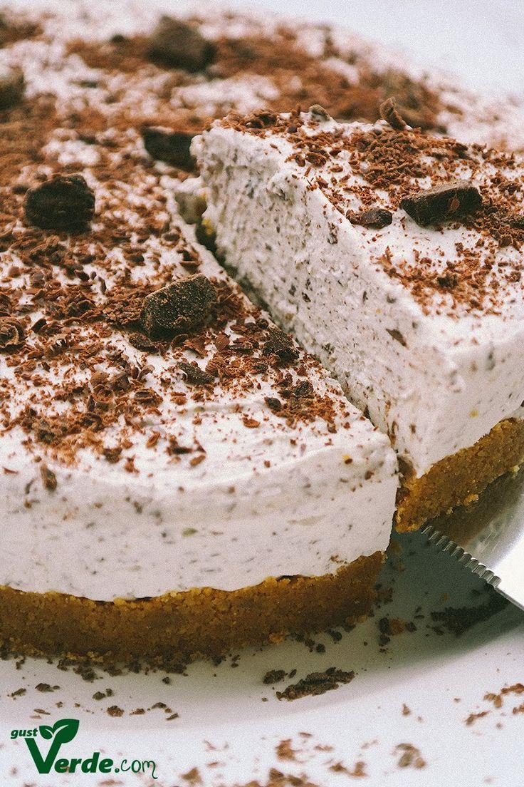 Gust Verde: Cheesecake cu fulgi de ciocolata neagra si Bailey's