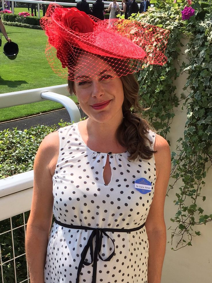 Royal Ascot 2017 - Katie Nicholl wearing Seraphine. Shop > http://www.seraphine.com/us/luxe-collection.html races fashion | special occasion dress | wedding guest dress | royal ascot dress | royal ascot fashion | races outfit | maternity clothes | maternity fashion ideas | maternity dresses | pregnant | pregnancy